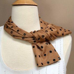 Auth brown Prada scarf.